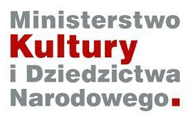 Logo. Ministerstwo Kultury i Dziedzictwa Narodowego.